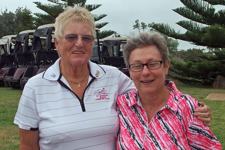 2015 Foursomes Div 2 Gross Winners were Jeanette Bale & Vicki Diefenbach.
