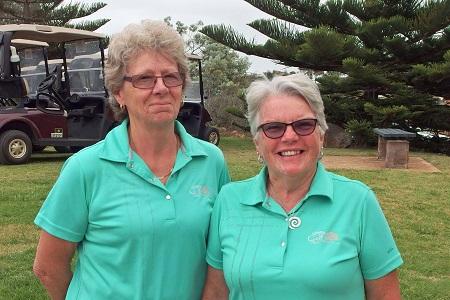 2015 Foursomes Division 1 Net winners were Gloria Davis & Linda Trusler.