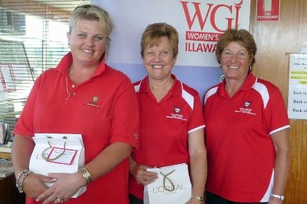 Runner-up team Wollongong