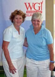 Lyn Walker and Nancye Cullen were the Foursomes Division 2 winners.