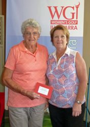 Juanita Bamford and Di Gates were the Foursomes Division 2 Net winners.