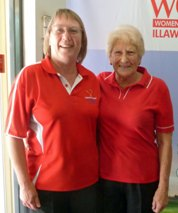 Wendy Carlile and Colleen Furbank Foursomes Division 2 Gross Winners