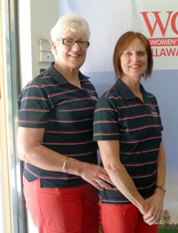 Kate Quinn and Rosalie Cronan were the Foursomes Division 2 Net winners